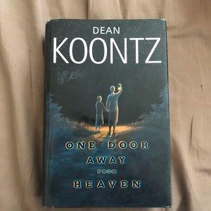 Dean Koontz book One Door Away from Heaven (LP)
